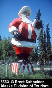 40 foot Santa