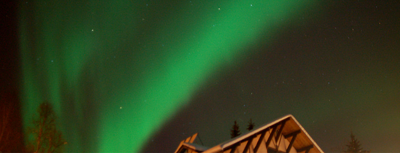 See the Northern Lights in the winter